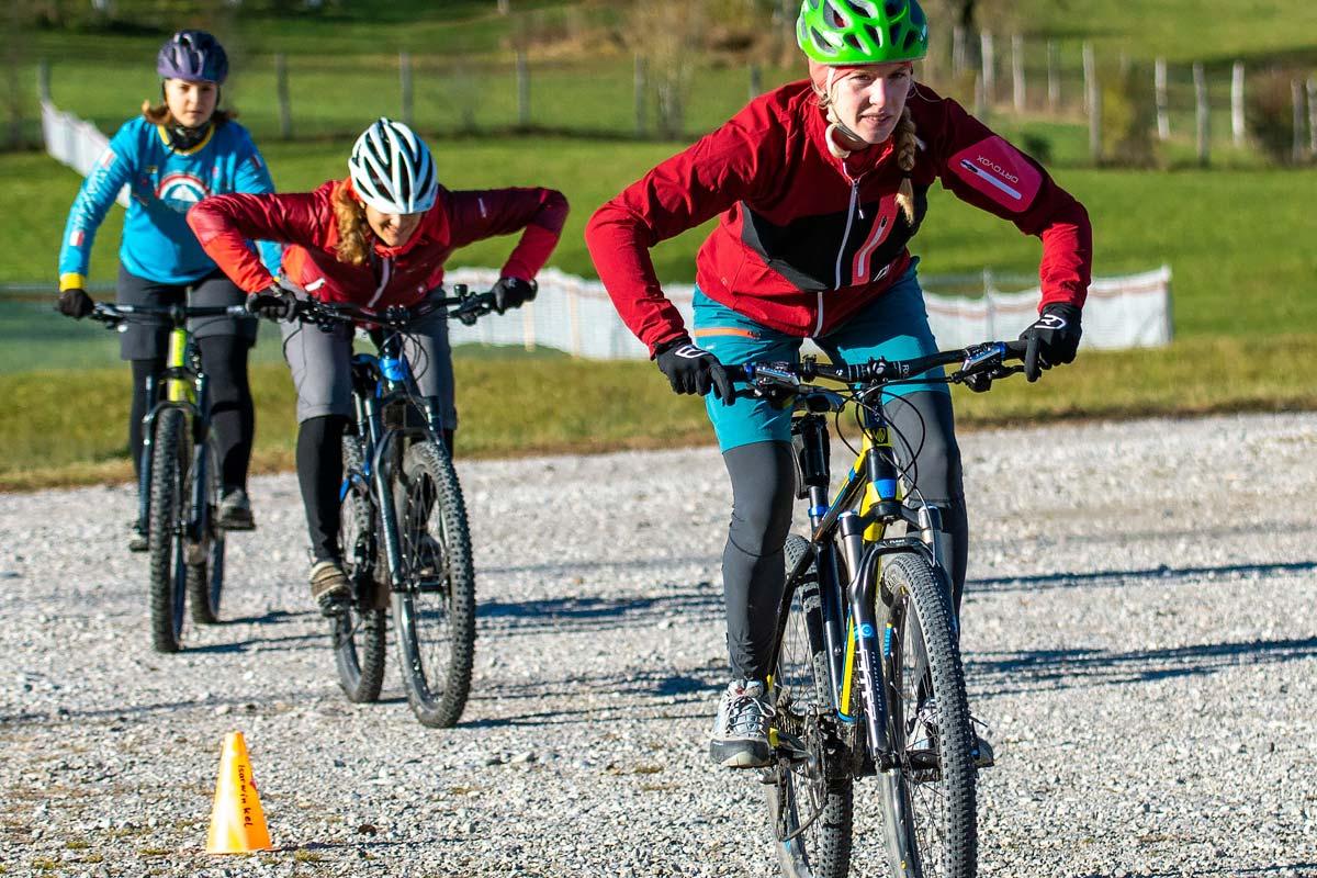 Biketraining-Tine